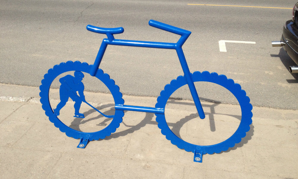 Bike Racks by UP Fabricating Negaunee MI