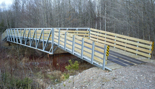 Bridge Design and Building UP Fabricating Negaunee MI