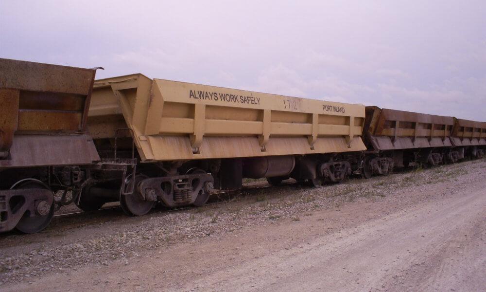 Railcar refurbishing UP Fab Negaunee MI